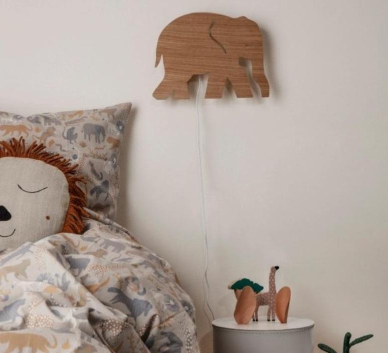 Elephant lamp trine andersen applique murale wall light  ferm living 100050 316  design signed nedgis 64168 product