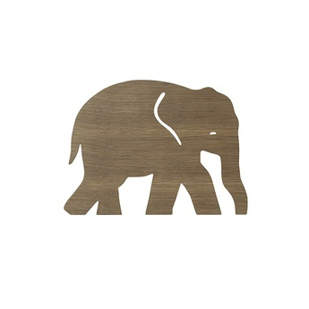 Applique murale elephant lamp chene l35 4cm h26cm ferm living normal