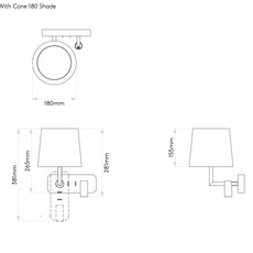 Side by side studio astro applique murale wall light  astro 1406004 5018044  design signed nedgis 116508 thumb