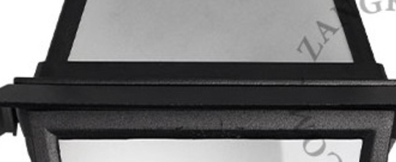 Applique murale exterieur noir verre satine ip43 l23 5cm h41 5cm p15 5cm zangra normal