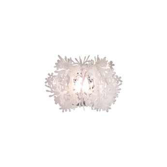 Applique murale fiorella mini blanc l34cm h22cm slamp normal
