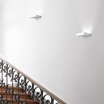 Applique murale fix blanc led 3000k 1760lm dimmable l16 5cm h4cm nemo lighting normal