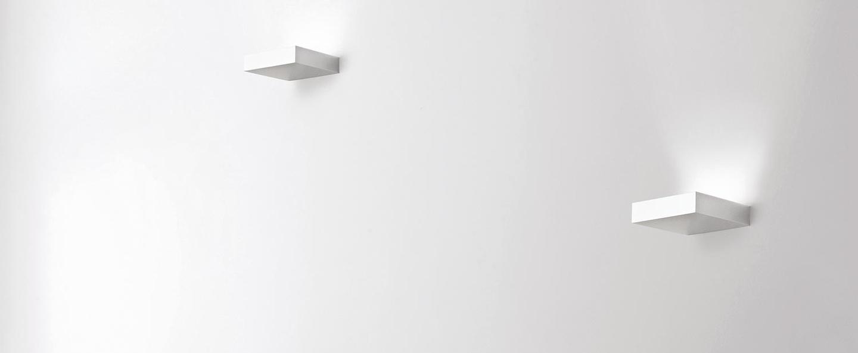 Applique murale fix up blanc led 2700k 380lm l9cm h3cm nemo lighting normal