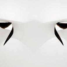 Flamme gauche serge mouille editionssergemouille flam noir gauche luminaire lighting design signed 20805 thumb