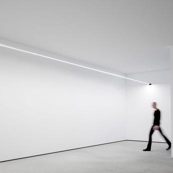 Applique murale flash 12 noir led 3000k 10896lm l1200cm hcm davide groppi normal