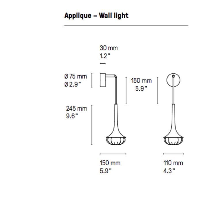 Flea  applique murale wall light  cvl flea sb  design signed 53599 product