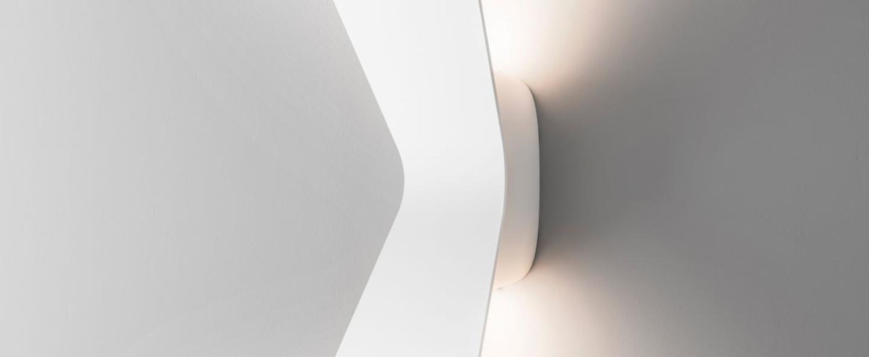 Applique murale flex blanc 3000k 2x1350lm l16 9cm h36cm fontanaarte normal