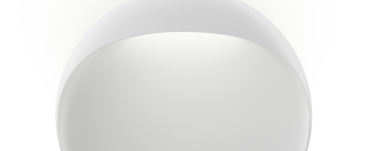 Applique murale flindt wall blanc led o20cm hcm louis poulsen normal