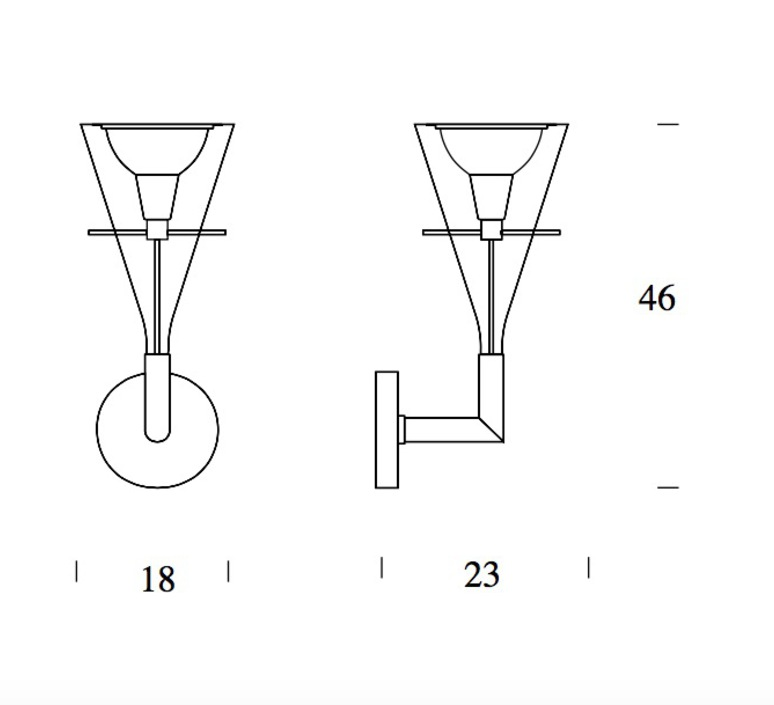 Flute franco raggi fontanaarte 3314 luminaire lighting design signed 20027 product