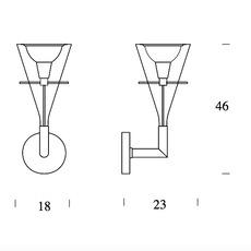 Flute franco raggi fontanaarte 3314 luminaire lighting design signed 20027 thumb
