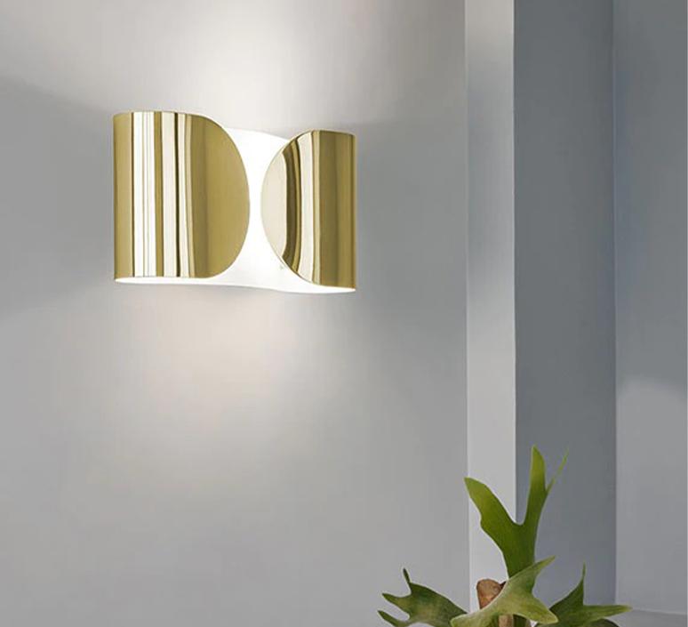 Foglio tobia scarpa applique murale wall light  flos f2400044  design signed nedgis 117794 product