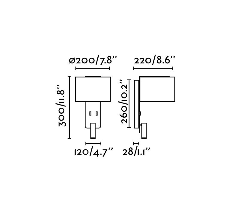 Fold liseuse nutcreatives applique murale wall light  faro 64305  design signed nedgis 81728 product