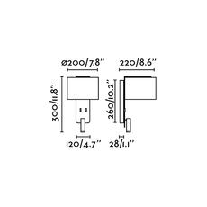 Fold liseuse nutcreatives applique murale wall light  faro 64305  design signed nedgis 81728 thumb