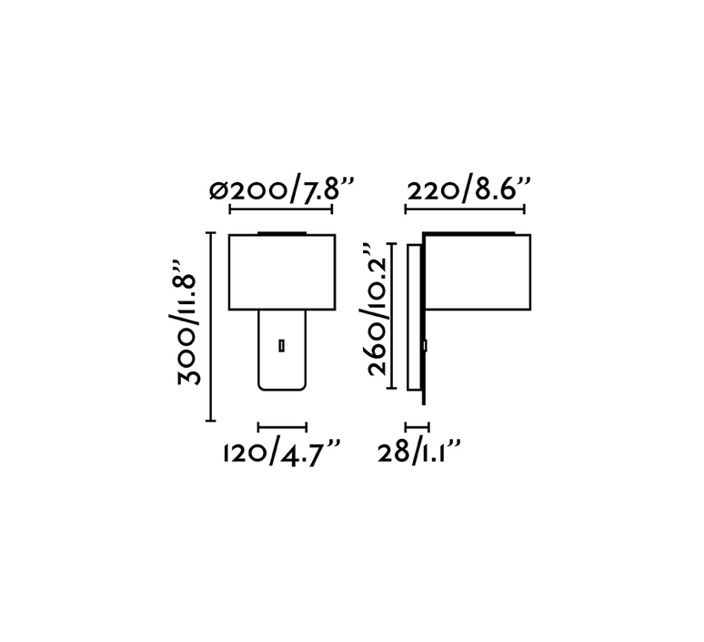 Fold nutcreatives applique murale wall light  faro 64303  design signed nedgis 81735 product