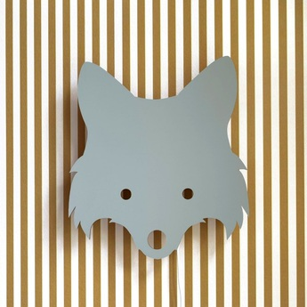 Applique murale fox lamp gris l30cm h22 5cm ferm living normal