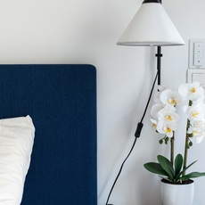 Funiculi fabric lluis porqueras applique murale wall light  marset a641 403  design signed 111518 thumb
