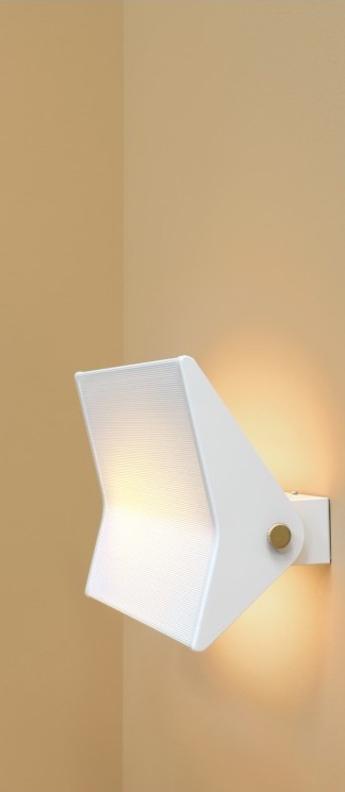 Applique murale g3 blanc led 2700 1500 l39 5cm h20cm sammode normal