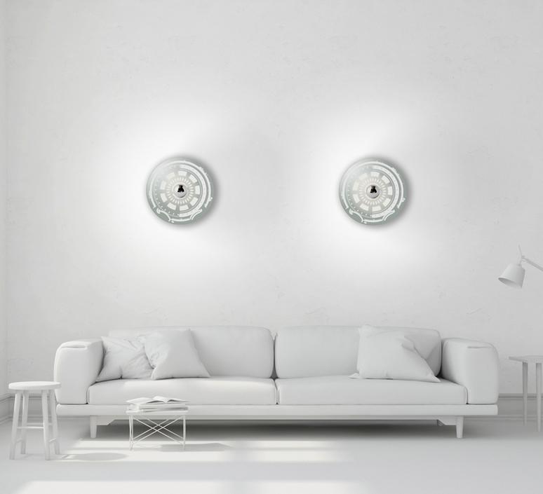 Gambling s jacky tsai applique murale wall light  mineheart lig083 s  design signed 46644 product