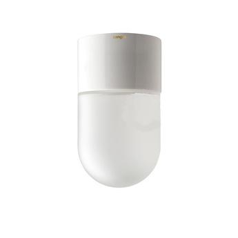 Applique murale glass 001 blanc o8 5cm h5 5cm zangra normal