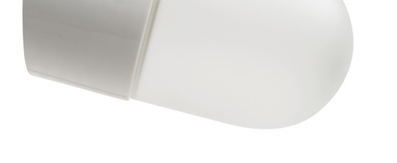 Applique murale glass blanc o8 5cm h6cm zangra normal