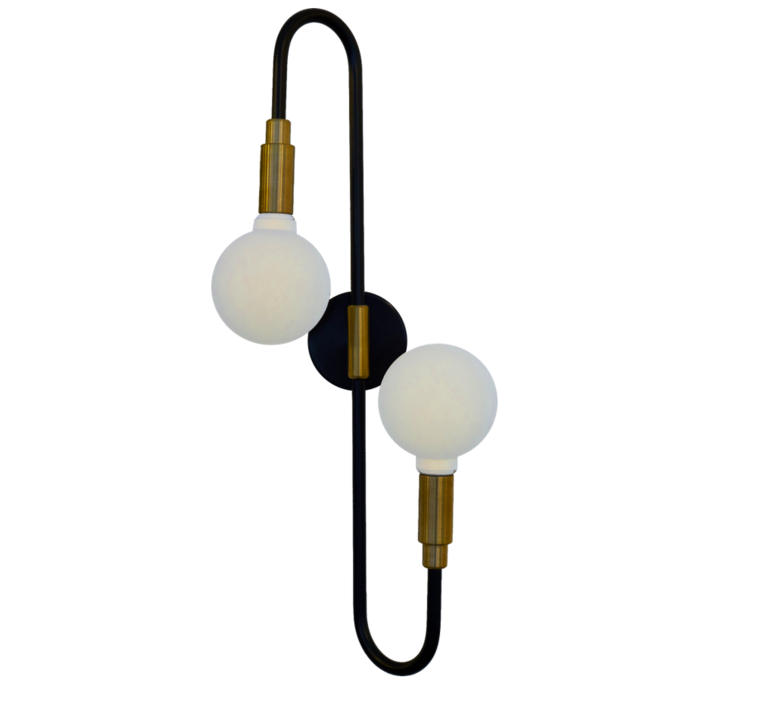 Globos double daniel gallo applique murale wall light  daniel gallo globos double  design signed 59590 product