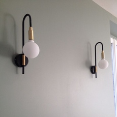 Globos simple daniel gallo applique murale wall light  daniel gallo globos simple  design signed 59503 thumb