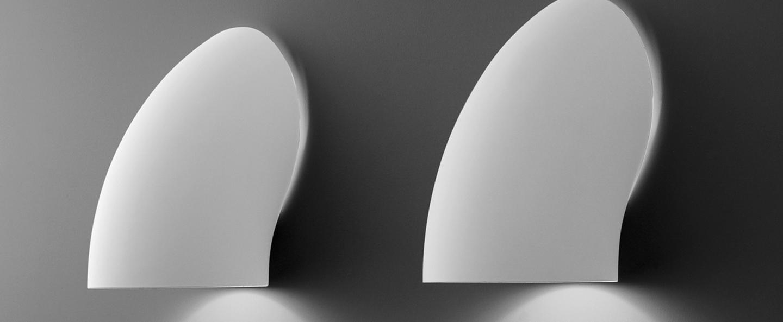 Applique murale gomito blanc h20cm martinelli luce ec70f283 e67f 4c0a 86f9 91f2415714fa normal