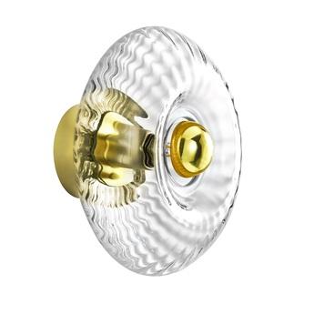 Applique murale grace diamant gold o28cm h14cm elements lighting normal