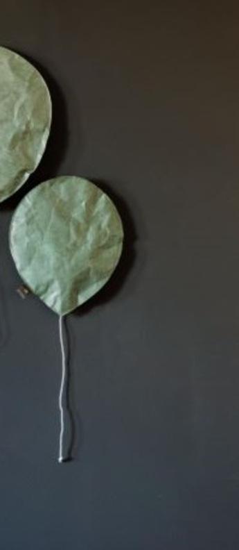 Applique murale green celadon lighting balloon small vert o22cm h26cm ekaterina galera normal