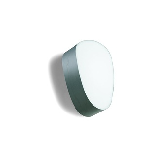 Applique murale guijarros 1a turquoise led h25cm l16cm lzf normal