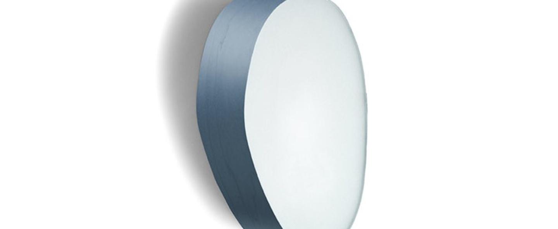 Applique murale guijarros 2a bleu led h29cm l19cm lzf normal