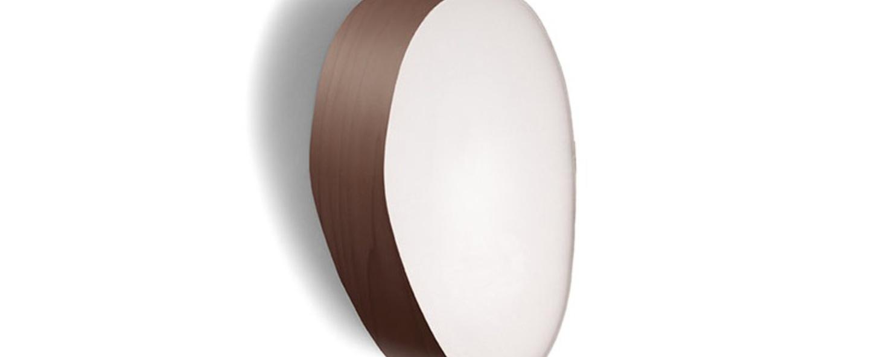 Applique murale guijarros 2a chocolat led h29cm l19cm lzf normal