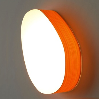 Applique murale guijarros 2a orange led h29cm l19cm lzf normal