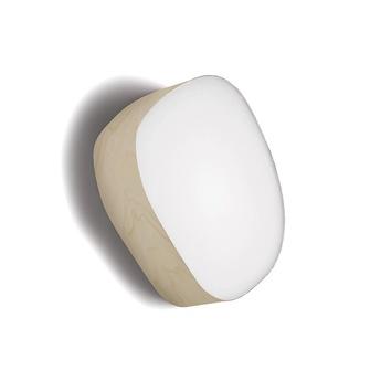 Applique murale guijarros 3a blanc ivoire h26cm l23cm lzf normal