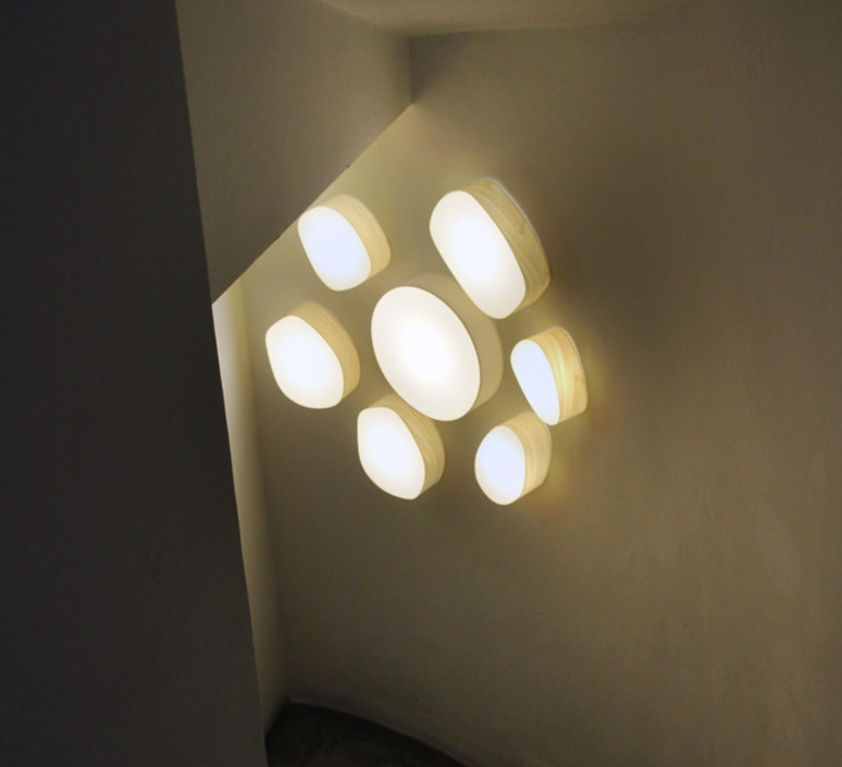Guijarros 5a marivi calvo applique murale wall light  lzf dark g5 a 20  design signed 31137 product
