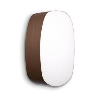 Applique murale guijarros 5a chocolat led h36cm l25cm lzf normal