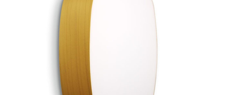 Applique murale guijarros 5a jaune led h36cm l25cm lzf normal