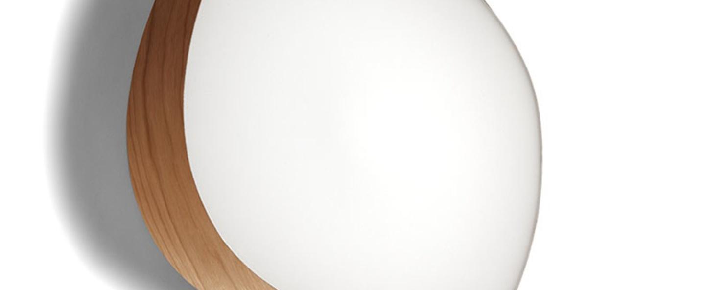 Applique murale guijarros 6a cerise naturelle led h41cm l38cm lzf normal