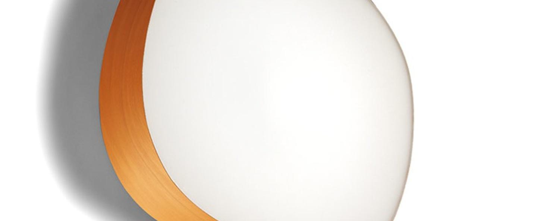 Applique murale guijarros 6a orange led h41cm l38cm lzf normal