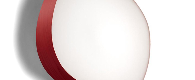 Applique murale guijarros 6a rouge led h41cm l38cm lzf normal