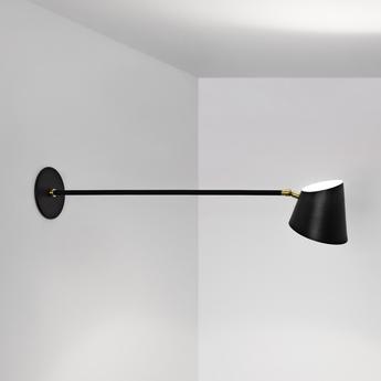 Applique murale hartau wall noir o44cm h14cm d armes normal