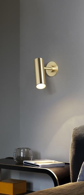 Applique murale heron laiton l7cm h20cm cto ligting normal