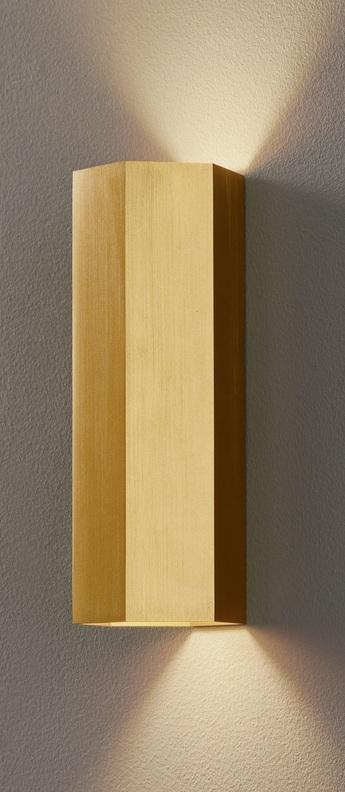 Applique murale hexo laiton h20cm wever et ducre normal