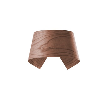 Applique murale hi collar a chocolat led h16cm l26cm lzf normal