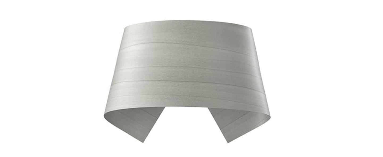 Applique murale hi collar a gris led h16cm l26cm lzf normal