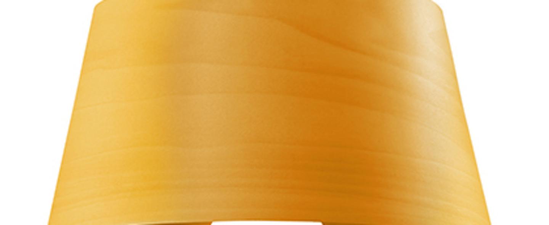 Applique murale hi collar a jaune led h16cm l26cm lzf normal