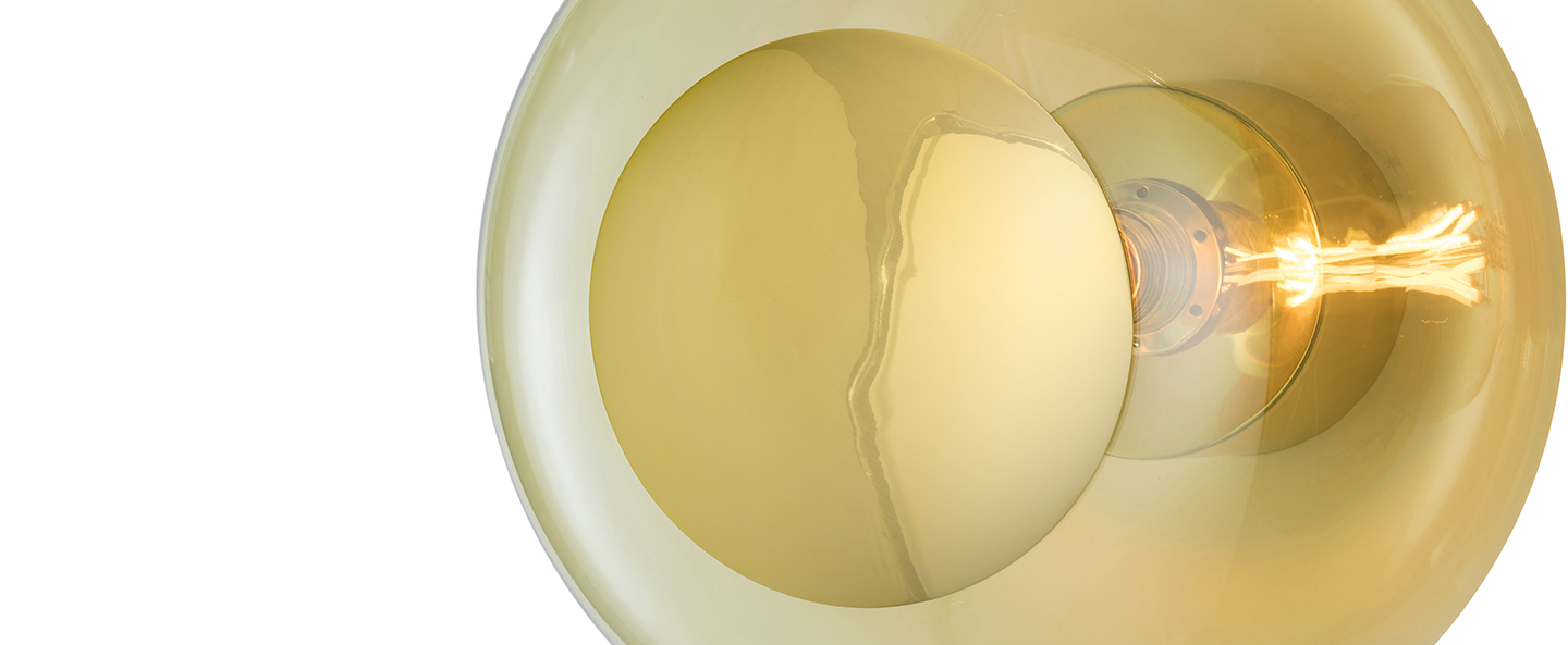 Applique murale horizon ceiling wall lamp 29 vert olive o29cm h20 5cm ebb and flow normal