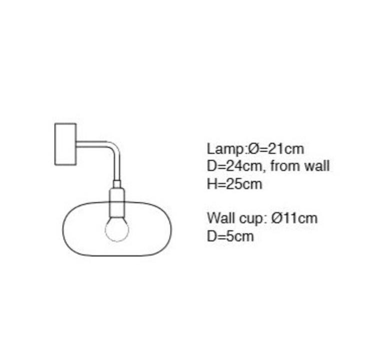 Horizon susanne nielsen applique murale wall light  ebb and flow la101773w  design signed nedgis 73147 product