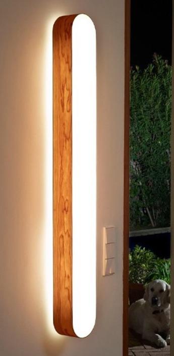 Applique murale i club bois naturel de cerisier h136cm lzf normal