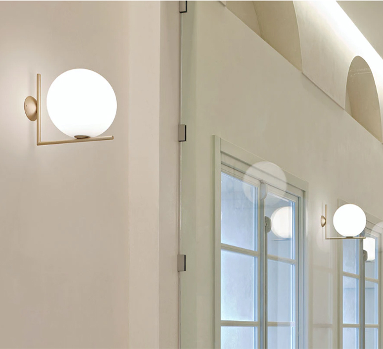 Ic c w2 michael anastassiades applique murale wall light  flos f3179059   design signed 97607 product